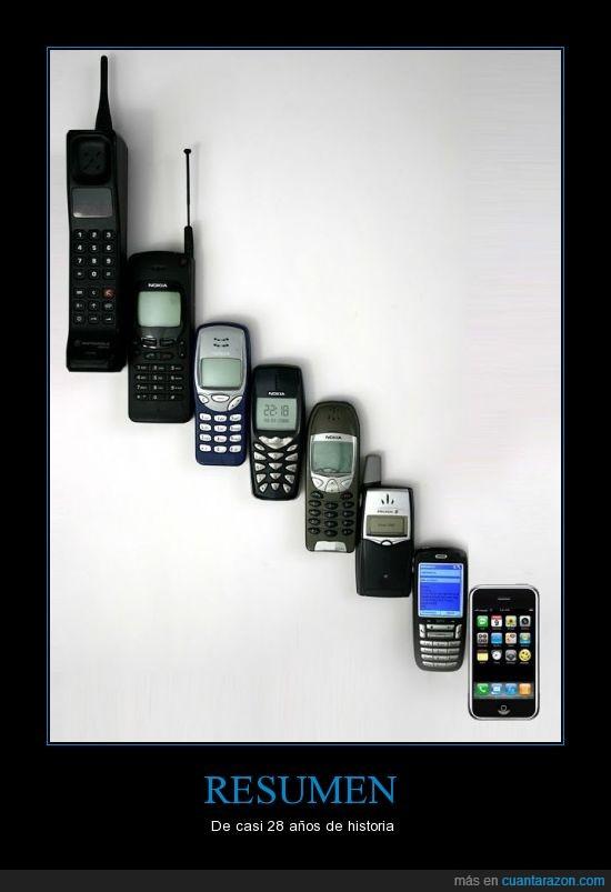 evolución,móviles