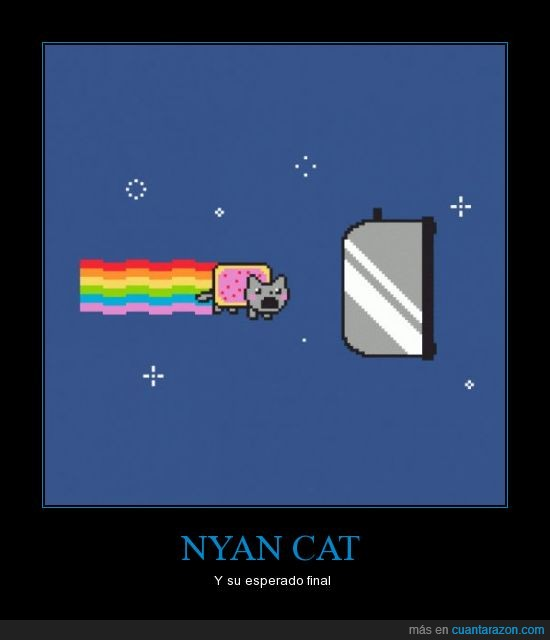 nyan cat,the end