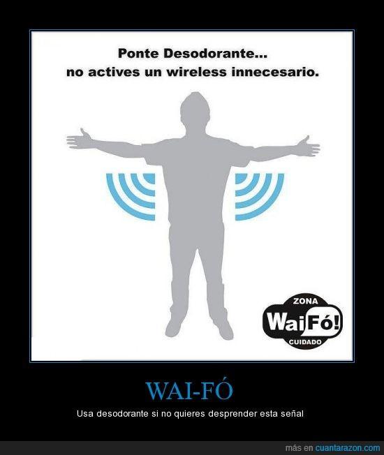 apestar,desodorante,sobaco,waifo,wifi
