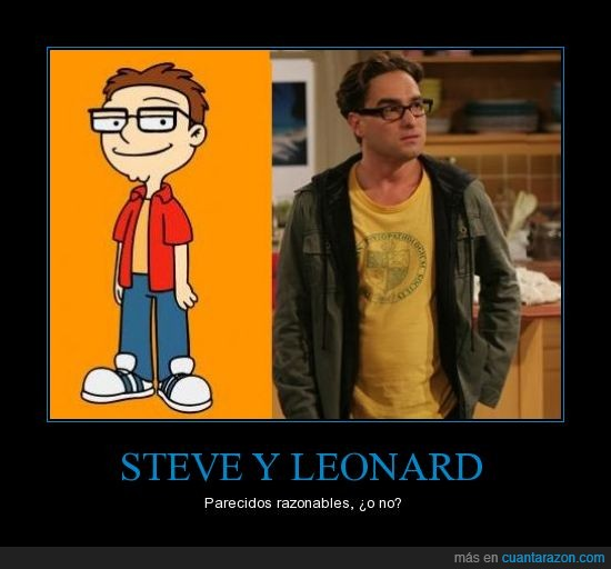 american dad,leonard,padre made in USA,steve,The big bang theory