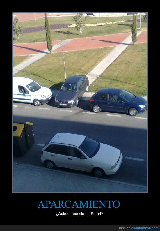 aparcar,coche,sitio,smart