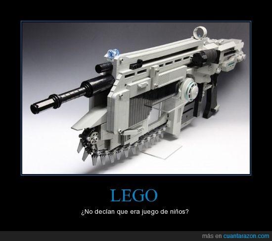 gears of war,lancer,lego