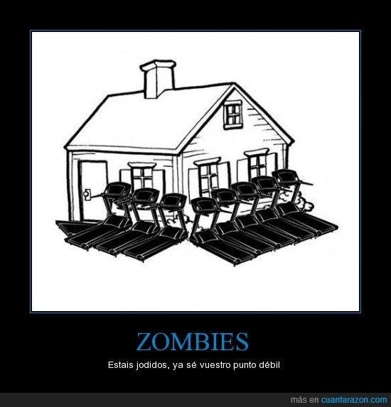 casa,cintas,correr,zombies