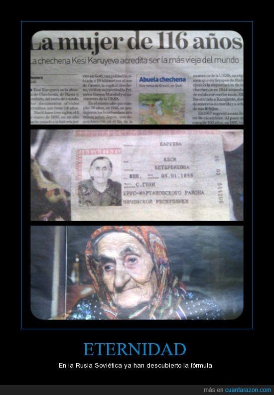 abuelas,inmortalidad,rusia sovietica