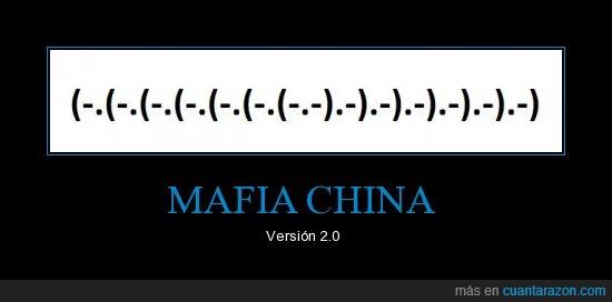 china,coma,emoticonos,mafia,parentesis,punto