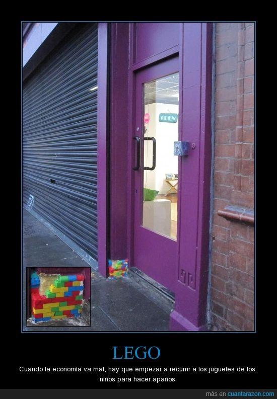 Dublin,Irlanda,LEGO,puerta
