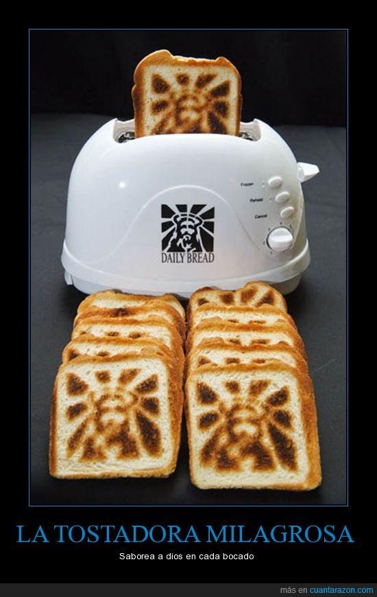 dios,pan,tostadora