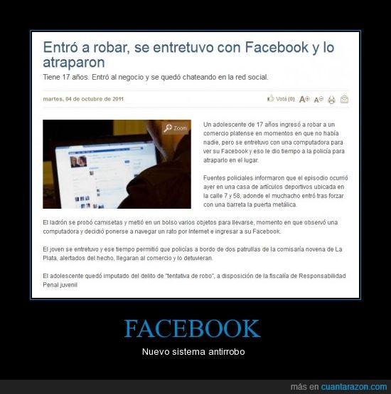 estado,estupidez,facebook,insólito,robo,tentación