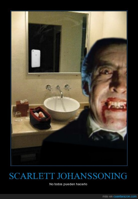 dracula,espejo,scarlett johansson,vampiro