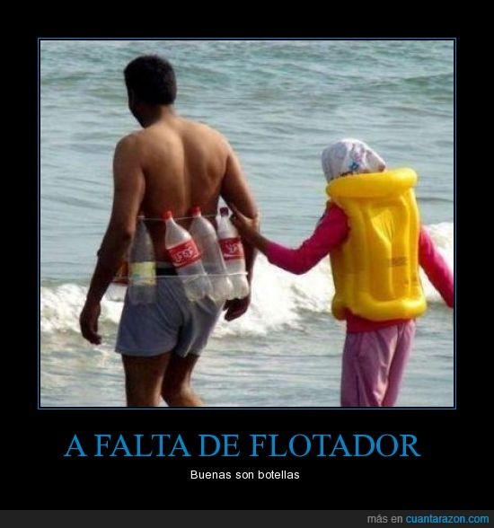 botellas,cocacola,fail,flotadores