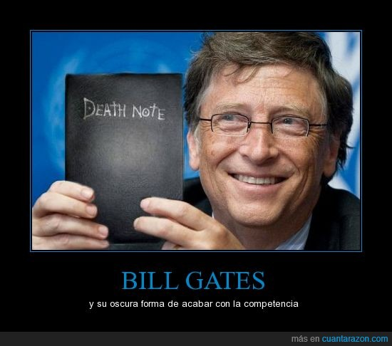 bill gates,death note,steve jobs