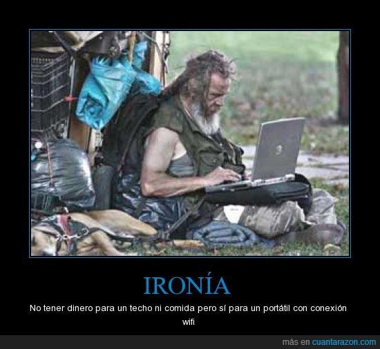 hogar,Indigente,ordenador