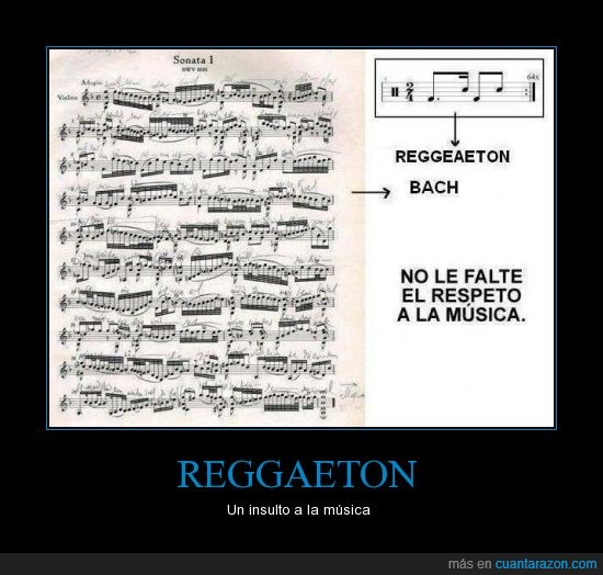 Bach,Barroco,Musica,Reggaeton