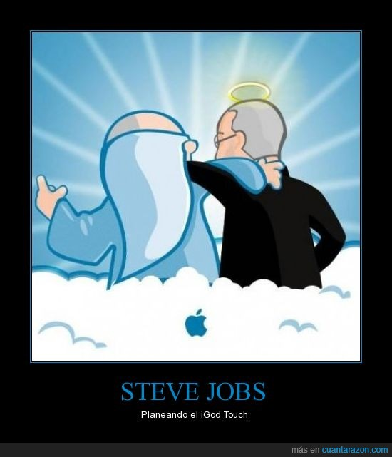 igod,planeando,steve jobs,touch