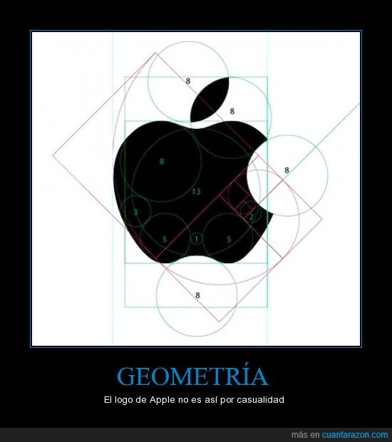 apple,geometria,logo