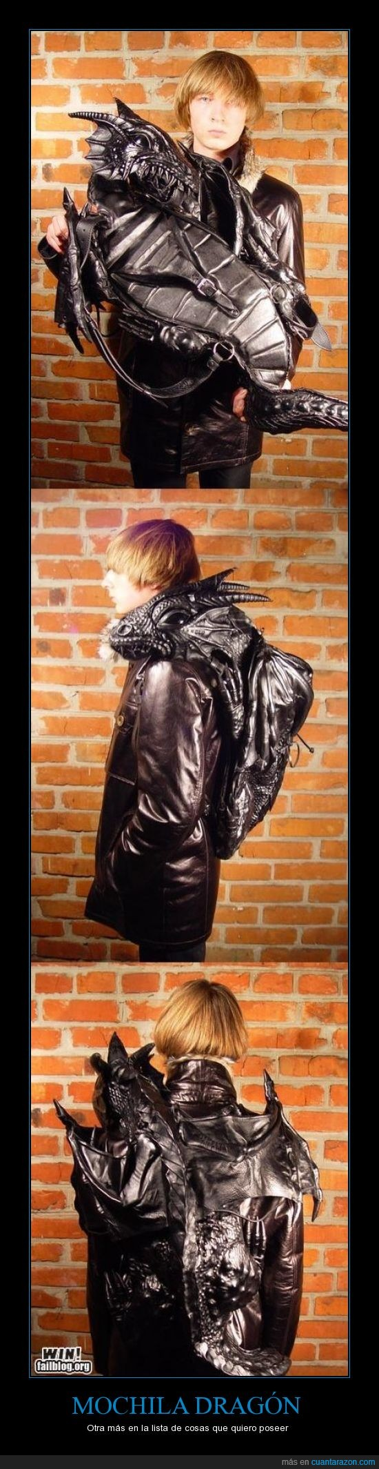 dragón negro,mascota,mochila