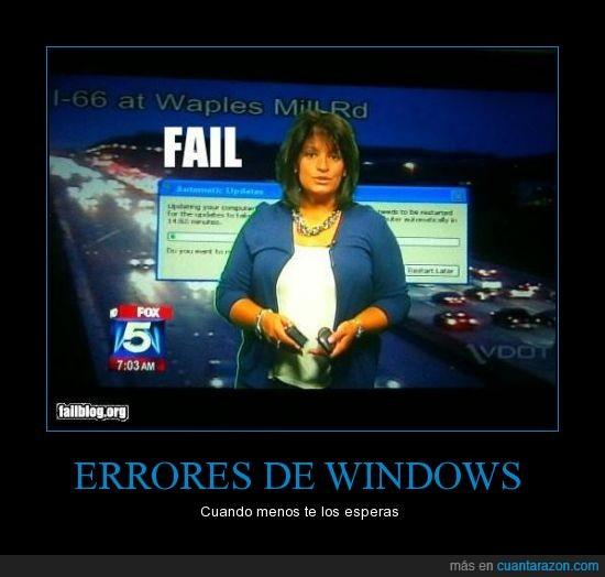 error,FAIL,señora,Windows