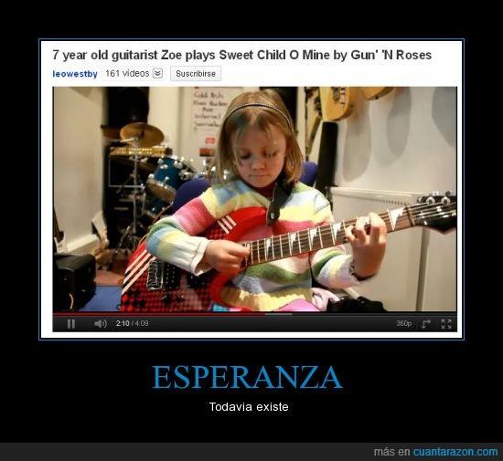 esperanza,guitarra,tocar