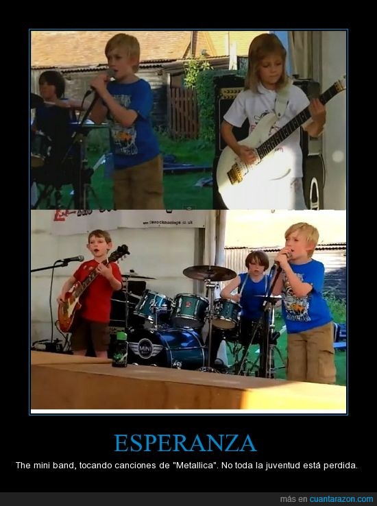 Generacion asegurada,Metallica,The mini band