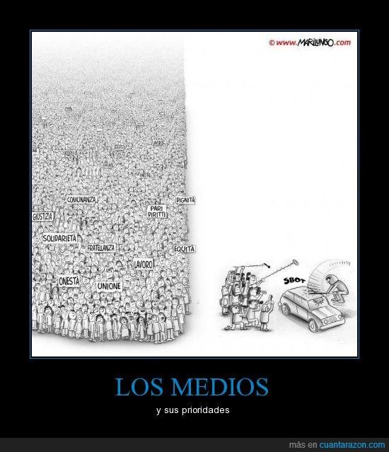15M,15O,manifestaciones,medios,violencia