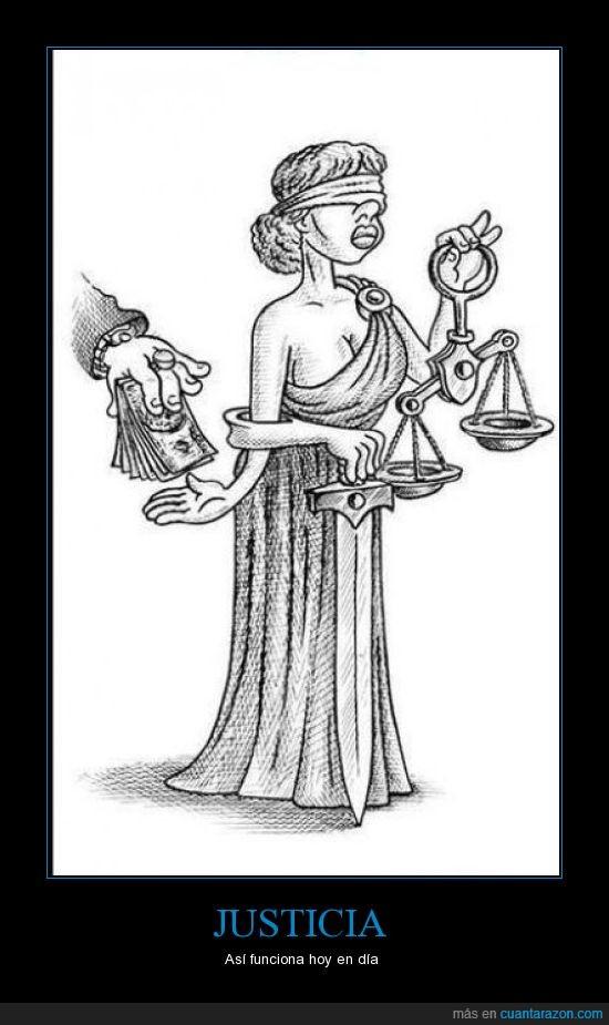dinero,Justicia,sobornar
