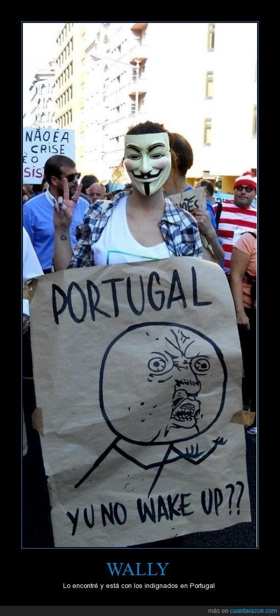 pancarta,portugal,wally
