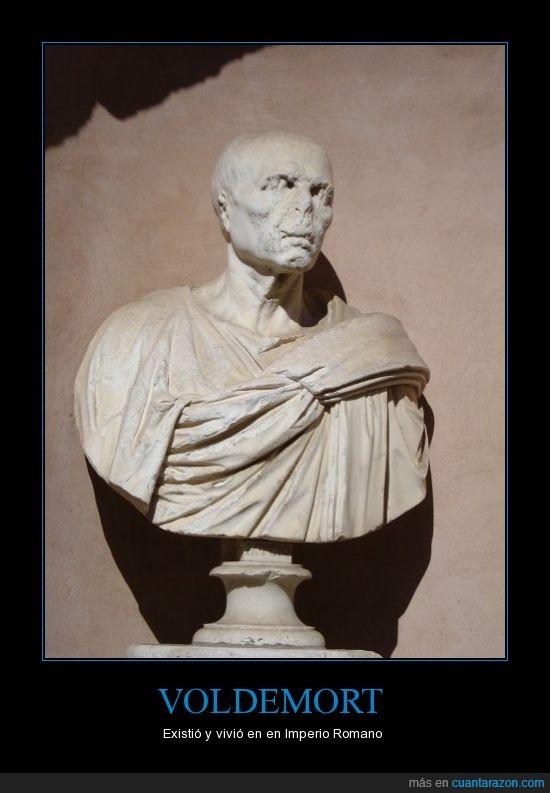 estatua,fail,nariz,Roma,voldemort