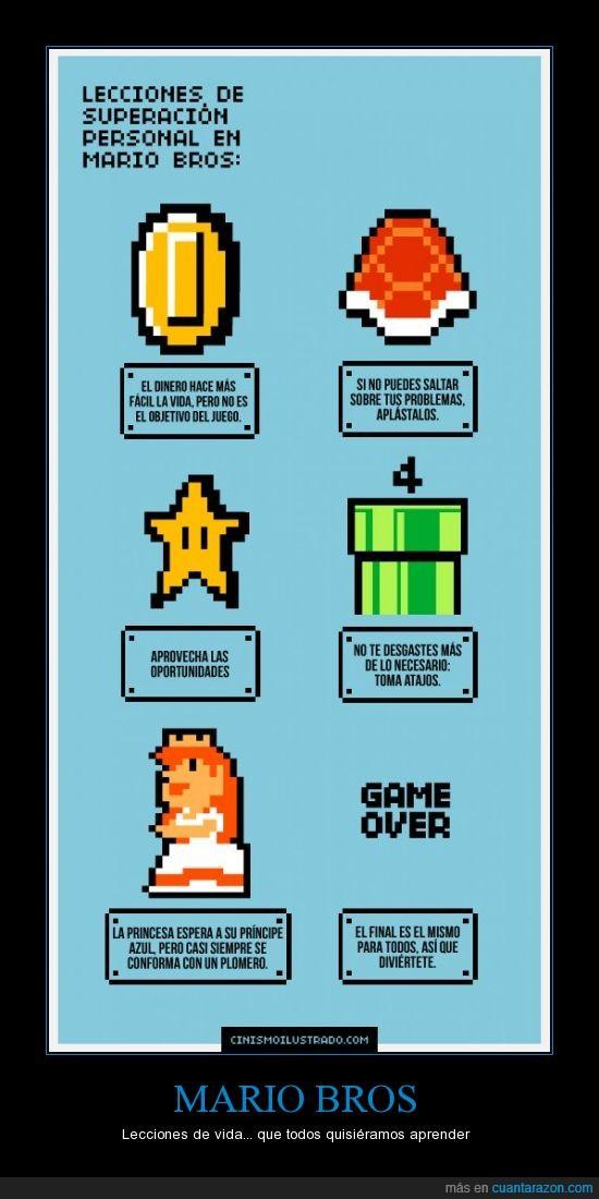 Lecciones,Mario,Vida