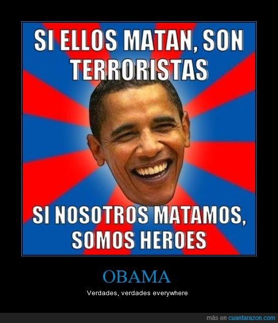 asesinos,gadaffi,obama,terroristas