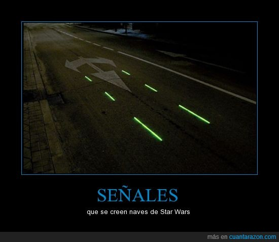 friki,nave,señal,Star Wars