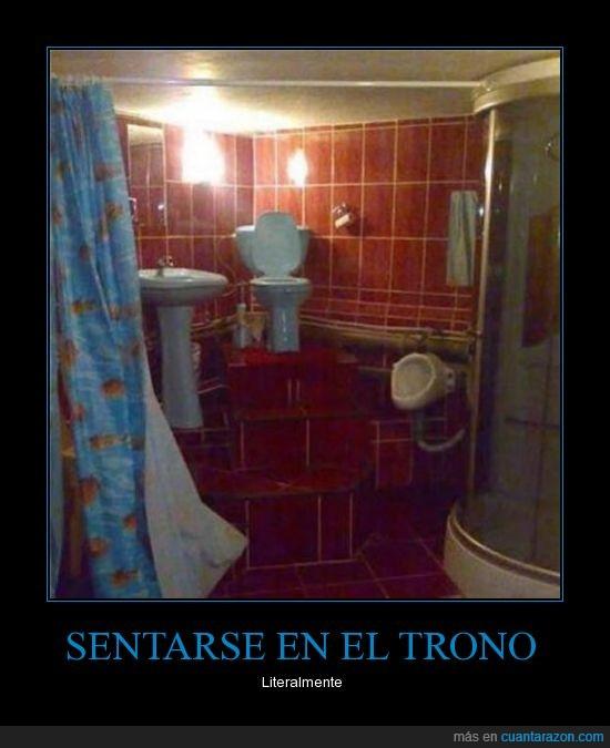 baño,cagar,escaleras,trono