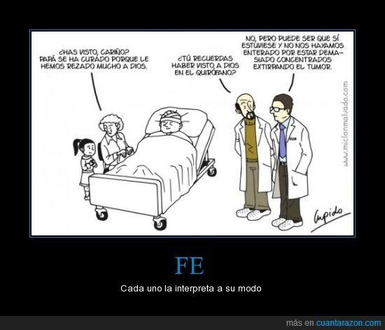 dios,fail,fe,humor,medico