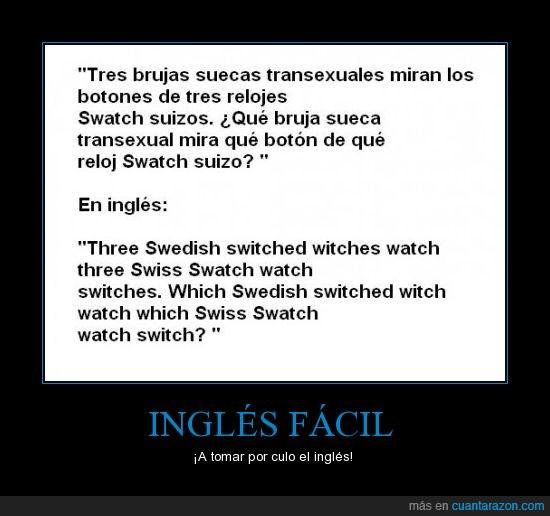 brujas,clase,inglés