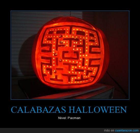 calabaza,halloween,pacman