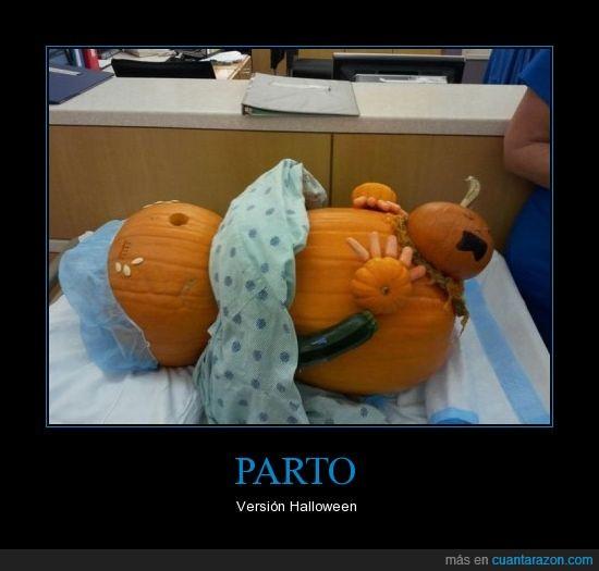 halloween,parir,parto
