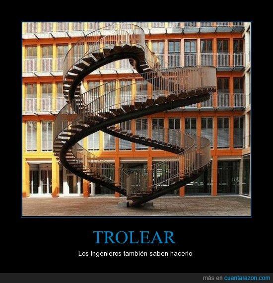 escaleras,imposible,trolldad,trolling