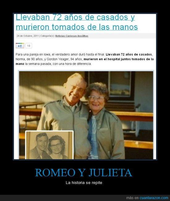 abuelos,amor,muerte,romeo y julieta