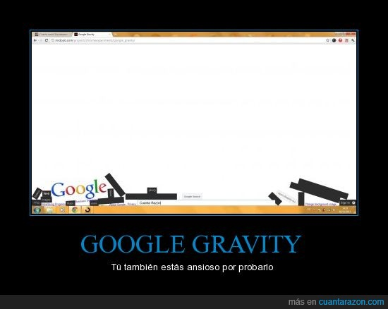 Google,Gravity,troll