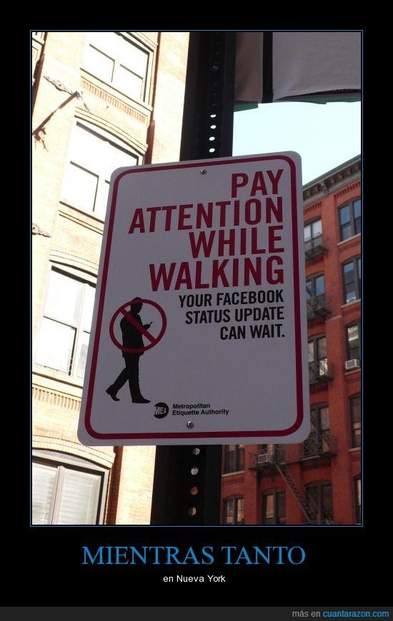 facebook,mientras andas,new york,nueva york,vigilar