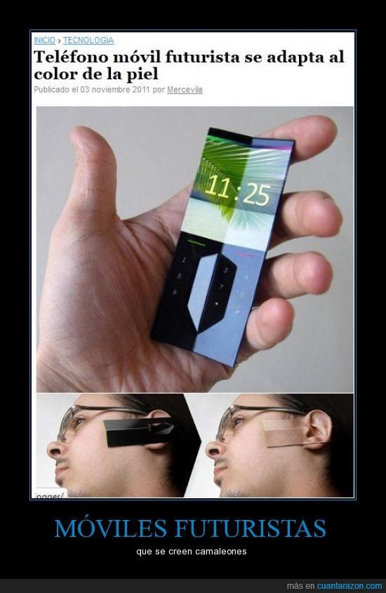 camaleon,celular,futurista,movil,telefono