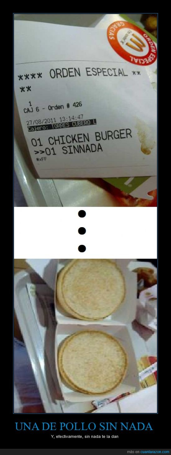 fail,hamburguesa,mc donalds,pollo