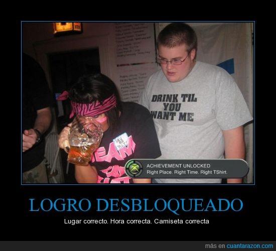 borracha,camiseta,logro,Xbox 360