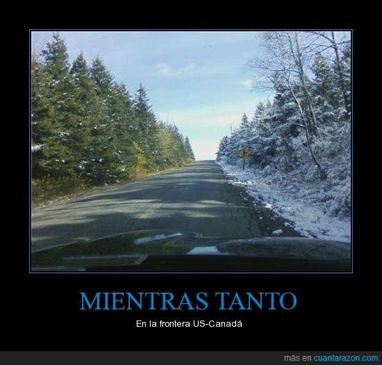 canada,frontera,nieve,us