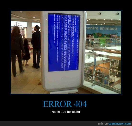 centro comercial,error,not found,publicidad