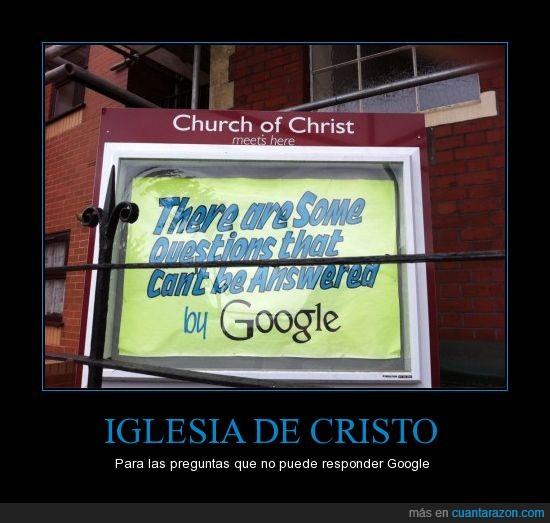 bristol,cartel,google,iglesia,preguntas