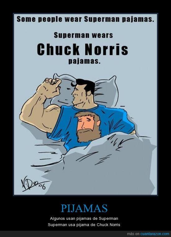 heroe,norris,pijama,superman