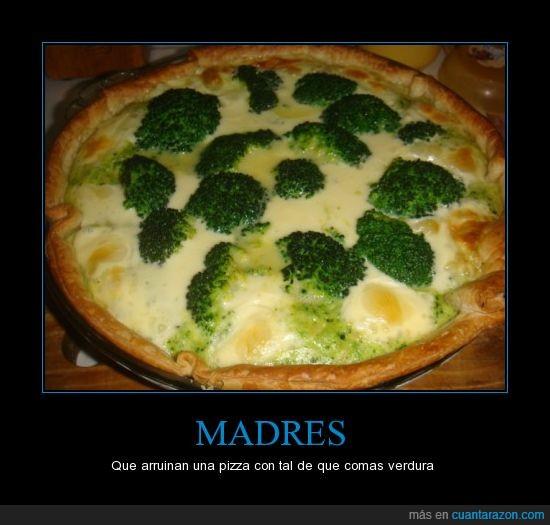 brocoli,madres,pizza