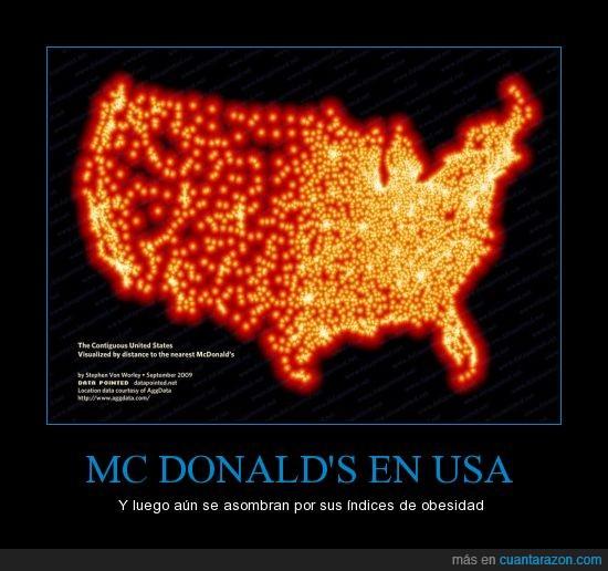 Mc Donald's,obesidad,USA