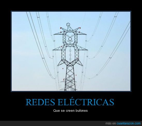 bufon,red electrica