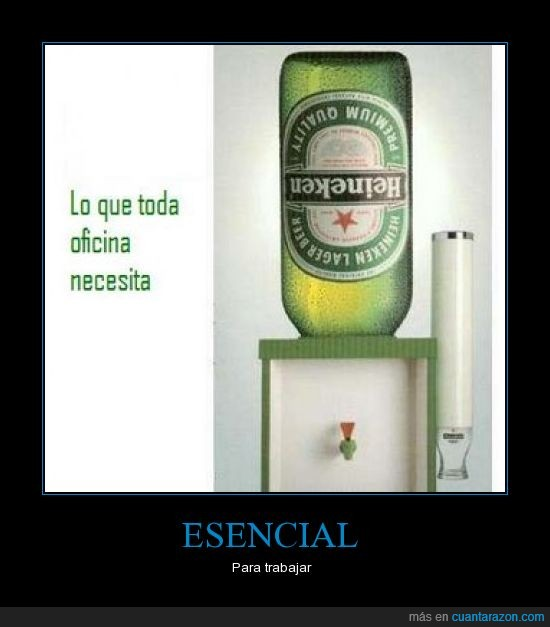 cerveza,esencial,heineken,trabajo